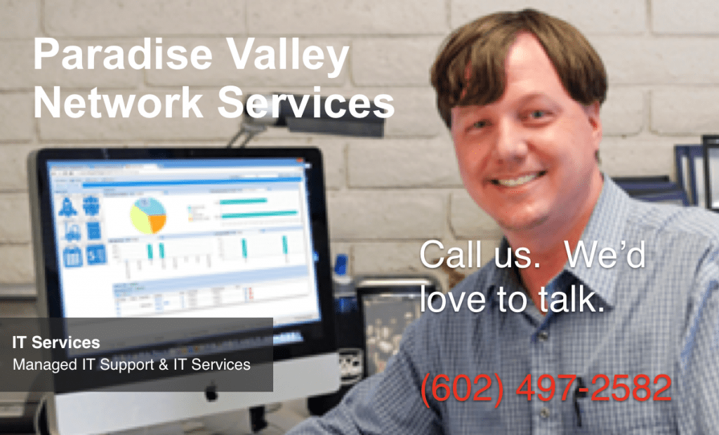 paradise valley network services