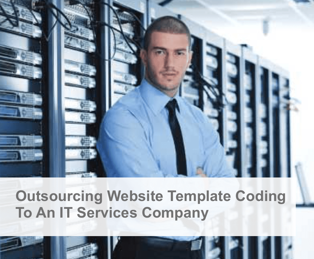 outsourcing website template coding it services